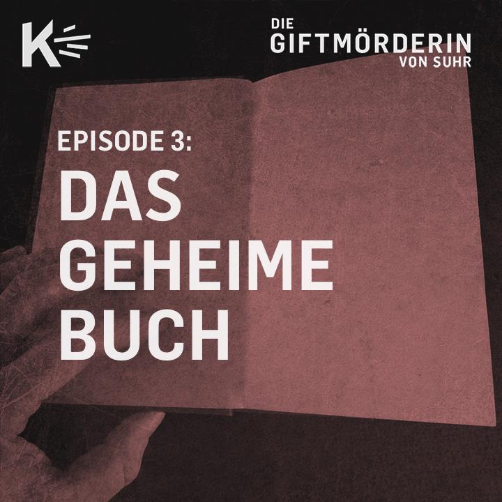 Podcast Cover der Episode 3: Ein aufgeschlagenes Buch
